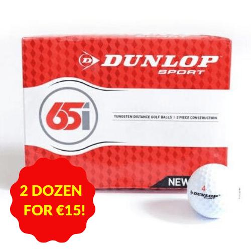 Dunlop Sport Golfballs 65I 12 Pack