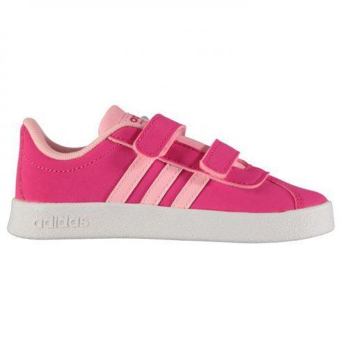 adidas Vl Court 2.0 CMF Infant Girls Trainers