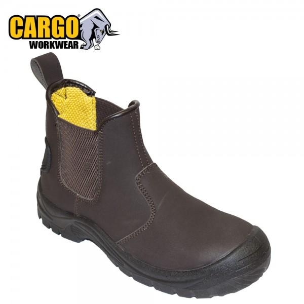 Cargo Workwear Dealer Slip On Boot S3 Brown