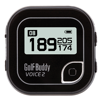 Golfbuddy Voice 2 Easy-to-Use Talking GPS