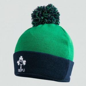 Canterbury Ireland Rugby Acrylic Bobble Hat Adult