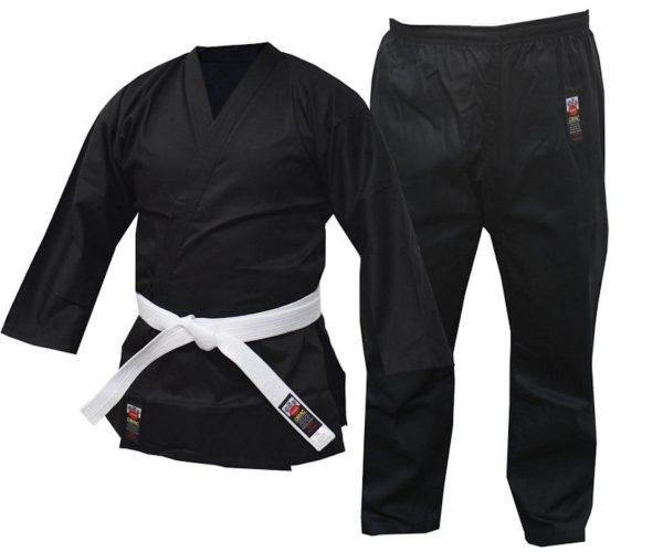 Cimac Student Karate Uniform Black