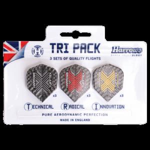 Harrows Tuftex Flights Tri-Pack