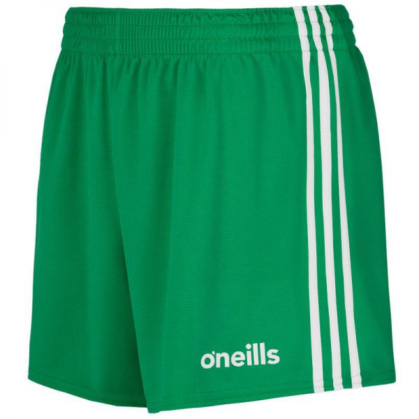 GAA Shorts Green and White O'Neills