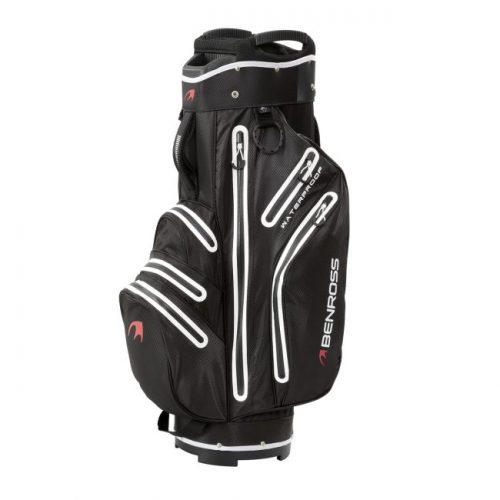 Ben Ross Pro-Tec Waterproof Cart Bag - Black