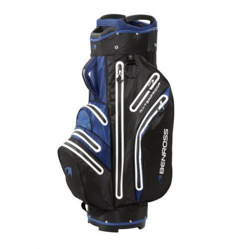 Ben Ross Pro-Tec Waterproof Cart Bag - Blue