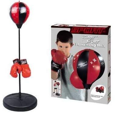 Punchball Gloves & Stand