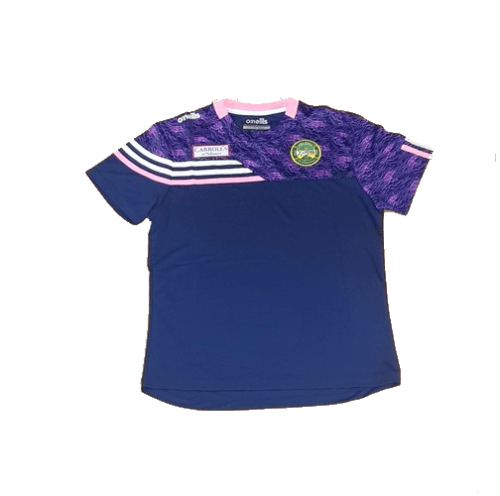 O'Neills Nevis T-Shirt 3-Stripe Offaly Ladies