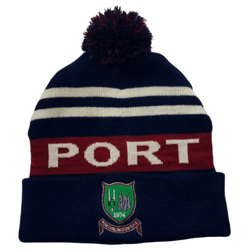 ProSport Portarlington Rugby Bobble Hat