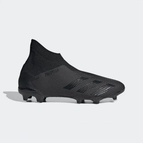 Adidas Predator 20.3 Firm Ground Boots - Black