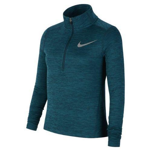 Nike Kids Girls Long Sleeve 1/2-Zip Top