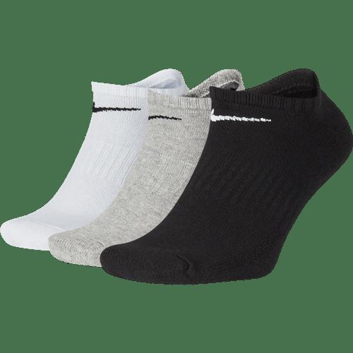 Nike Cushioned No-Show Socks 3-Pack