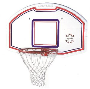Sure Shot Backboard and Ring