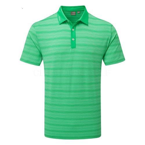 Ping Eugene Mens Golf Polo Shirt Grasshopper Green