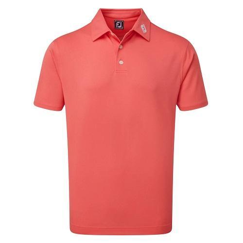 Footjoy Stretch Pique Solid Golf Polo