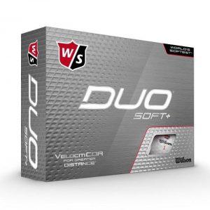 Wilson Duo Soft+ Golf Balls 12 pack