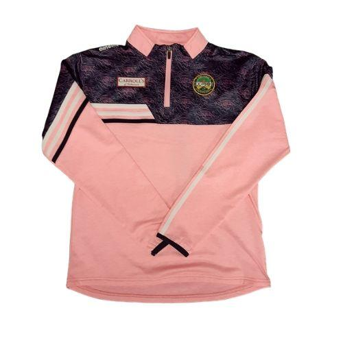 O'Neills Nevis Half-Zip Brush 3-Stripe Offaly Ladies & Girls