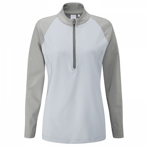 Ping Ladies Versatile Mid-Layer Top with Zip-Neck