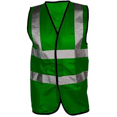 Cargo Hi-Visibility Vest Green Colgan Sports