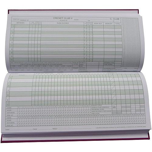 Dukes 100 Innings Cricket Scorebook