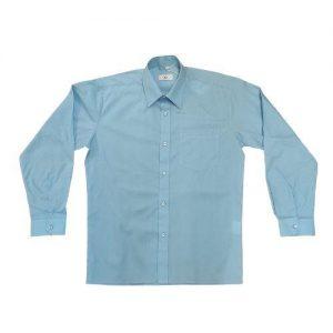 Hunter 656 Long Sleeve Shirt Blue Colgan Sports