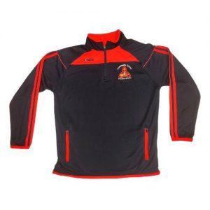 Mountrath Community School Aston 1/2 Zip Top Colgan Sports