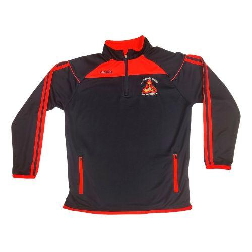 Mountrath Community School Aston 1/2 Zip Top Colgan Sports