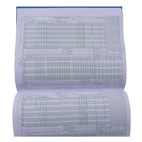Cricket Score Book Empire Cumulative Scoring