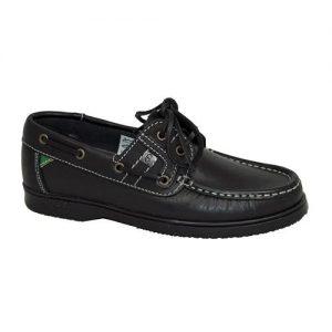 Gaby Deck Shoes Black