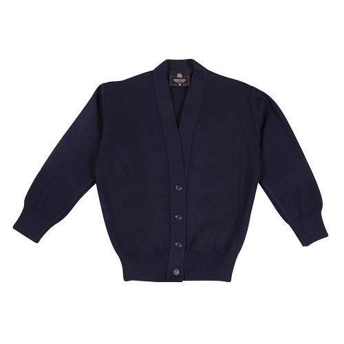 Deer Park Knitwear 100% Acrylic Cardigan Navy