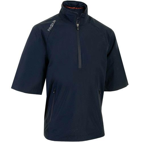 Proquip Men's Tempest Half Sleeve 1/4 Zip Waterproof Seam Sealed Golf Top