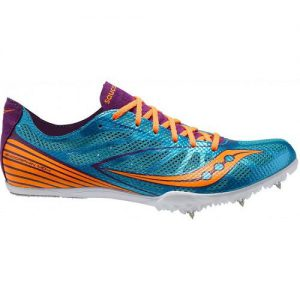 Saucony Endorphin MD4 Women's Shoes Blue Track