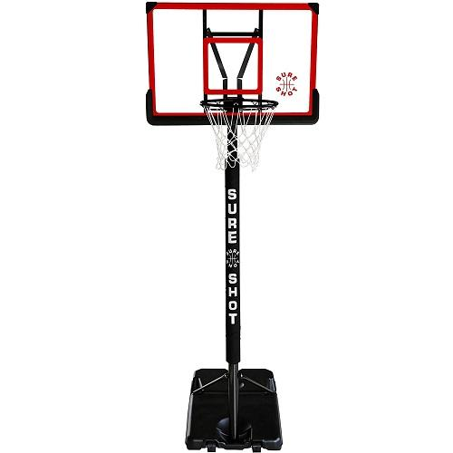 Sure Shot 63514AP Game Portable Basketball Hoop and Stand