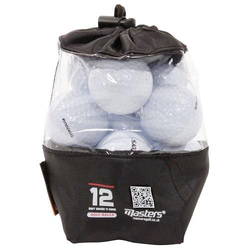 Masters Golf Titanium Golf Balls Colgan_Sports