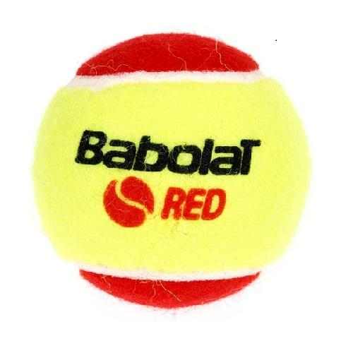 Babolat Play and Stay Red Felt Tennis Balls