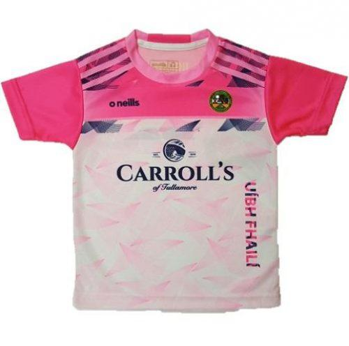 Offaly GAA Pink Granada Training Short Sleeve Top