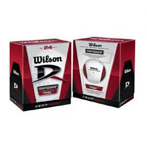 Wilson Deep Red 24 Golf Balls