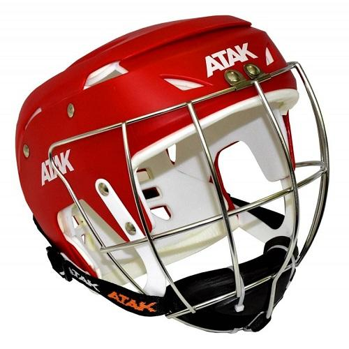 Atak Hurling Helmet Red Colgan Sports