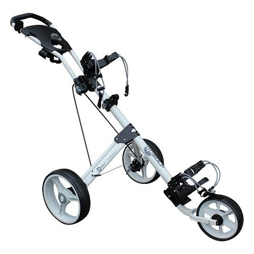 MKids Golf 3 Wheel Push Trolley Colgan Sports