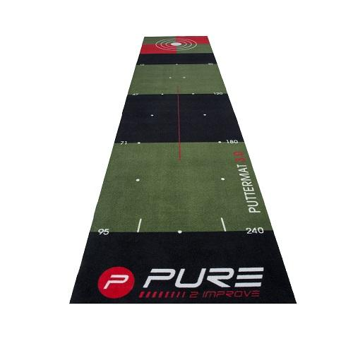 Pure 2 Improve Golf Putting Mat 3.0 Colgan Sports