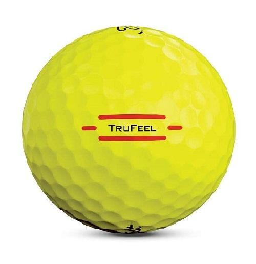 Titleist Tru Feel Yellow Golf Balls ColganSports
