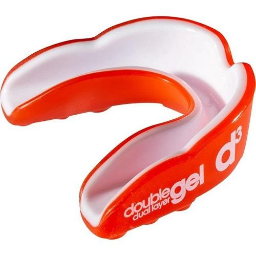 d3 Dual Layer Gel Sports Rugby Boxing Mouthguard Adults Colgan_Sports