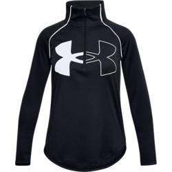 Under Armour Tech Graphic Logo Half Zip Girls Colgan_Sports_and_Golf