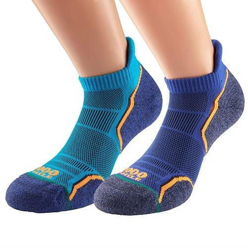 1000 Mile Run Socklet Twin Pack Colgan Sports