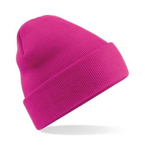 Fuchsia Pink Original Cuffed Beanie Colgan Sports