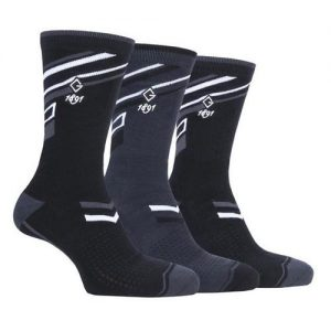 Ryan Mens 3 Pair Jacquard Stripe Golf Socks Colgan_Sports_and_golf