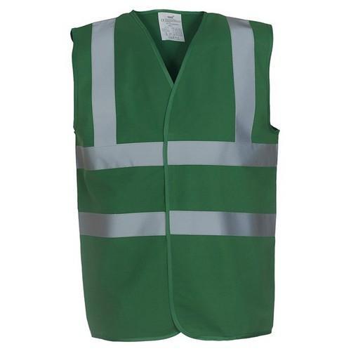 Yoko paramedic green hi-vis vest Colgan_Sports
