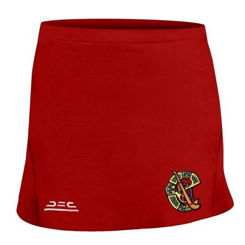 Atak Camogie Compression Skort Red Colgan_Sports_and_Golf