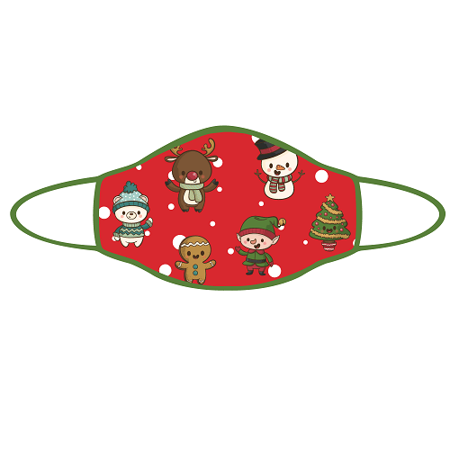 Prosport Face Mask - Christmas Characters Face Mask