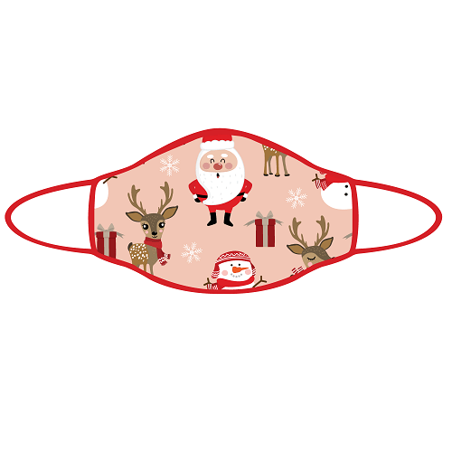 Prosport Face Mask - Christmas Reindeers Face Mask